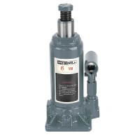 [KRWBJ6]  KraftWell (КНР) Домкрат бутылочный г/п 6000 кг.