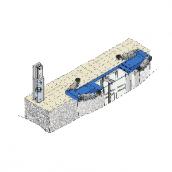 [VAR1110/C]  Ravaglioli (Италия) Вынесение насосной станции