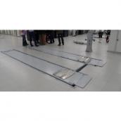 Подъемник ножничный г/п 4000 кг заглубляемый, платформы гладкие с люфт-детектором Nussbaum UNI LIFT 3500 NT UF GST 4500