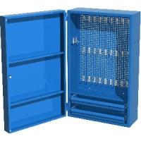 [03.002S_5015]  Ferrum (Луховицы) Шкаф инструментальный навесной с двумя ящиками и комплектом крючков для инструмента
