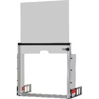 [A-5612]  MEGA Защитный экран для пресса