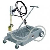 [1841.DP]  APAC (Италия) Емкость подкатная для сбора отработанного масла, с насосом, на колесах 50 л.