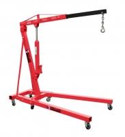 Кран (гусь) 2 т. гаражный гидравлический складной Red Line Premium GCR2D,  двухтактный насос