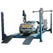 [450-3DA(OMA526L5)]  Werther-OMA (Италия) Подъемник четырехстоечный г/п 5000 кг. платформы гладкие