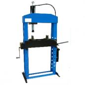 Пресс 50 т гидравлический напольный с ручным приводом и лебедкой Werther-OMA PR50/PM(OMA658B)