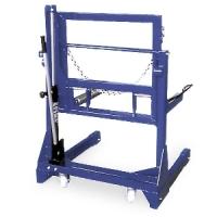 [PL701(OMA600)]  Werther-OMA (Италия) Тележка гидравлическая г/п 700 кг. для снятия колес грузовых автомобилей