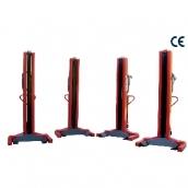 [LTW754C+4]  Werther-OMA (Италия) Колонны подкатные г/п 4х7,5 т. электромеханические
