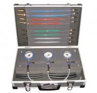 Диагностический набор для контроля входного давления и давления обратной ветви дизельных систем впрыска Common Rail SMC-1005/1
