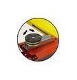 [90KDISC001]  Spanesi (Италия) Резиновые диски высокие