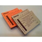 Комплект сменных карточек, 50 шт.  Zeca 366