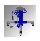 [FTHE2/1050]  Slift (Германия) Домкрат канавный г/п 2 т. пневмогидравлический с телескопическим штоком
