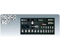 """[8181302]  KS-Tools (Германия) Набор головок 3/8"""" с аксессуарами"""