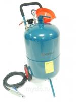 Передвижной пескоструйный аппарат напорного типа (бак 75л, 170-710л/мин, 4-8,5атм) пневмо Forsage SB20-II