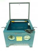 Пескоструйная камера Forsage SBC90 настольная (объем-72 л, 6,8атм, 340м/мин) пневмо
