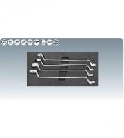 [8181327]  KS-Tools (Германия) Набор ключей S-образных 20-32 мм