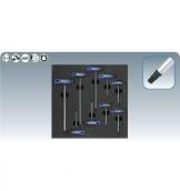 [8182351]  KS-Tools (Германия) Набор отверток TORX Т10-Т50, Т-образные