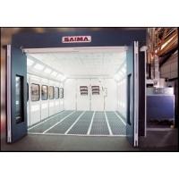[GAMMA Super]  Saima (Италия) Покрасочная камера 7,2 х 4,26 х 2,89 м., 28 000 м3/ч