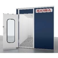 []  Saima (Италия) Комната для смешивания красок 3,6 х 2,4 х 2,55 м.