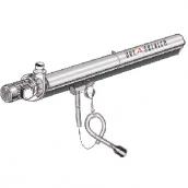 [KITEC100075060]  Aerservice (Италия) Рельсовая система вытяжки 6 м. с 1-ой кареткой 75 мм.