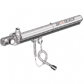 [KITEC100075120]  Aerservice (Италия) Рельсовая система вытяжки 12 м. с 1-ой кареткой 75 мм.