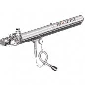 [KITEC100100060]  Aerservice (Италия) Рельсовая система вытяжки 6 м. с 1-ой кареткой 100 мм.