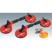 [1401010]  KS-Tools (Германия) Присоски для работы со стеклами, набор 2 шт.
