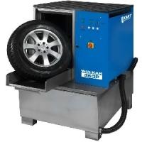Мойка для колес легковых и грузовых автомобилей с пневматической стабилизацией колеса и подогревом [WULKAN360HP]  Kart (Польша)