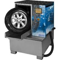 Мойка для колес легковых и грузовых автомобилей, с пневматической стабилизацией колеса и подогревом [WULKAN4x4HP]  Kart (Польша)