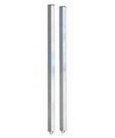 [01.A3-NEW]  Ferrum (Луховицы) Комплект стоек для крепления одной перфорированной панели к столешнице