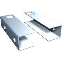 [01.AG]  Ferrum Кронштейны для крепления перфорированных панелей к оцинкованной столешнице
