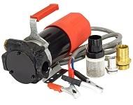 Насос для перекачки солярки Petroll Vega 80 л/м 12 24 v (в, вольт) дизельного топлива
