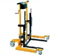 [PR250]  Lamco (Италия) Тележка механическая г/п 200 кг. для снятия колес грузовых автомобилей