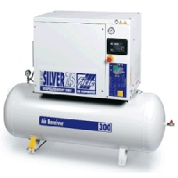 [NEW SILVER D 20-500]  Fiac (Италия-Белоруссия) Компрессор винтовой пр-ть 1,9 м3/мин, давление 10 бар.