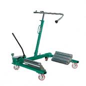 [WD1500]  Compac (Дания) Тележка гидравлическая г/п 1500 кг. для снятия колес грузовых автомобилей