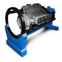 [Р776Е]  ЧЗАО (Челябинск) Стенд для разбора двигателей, г/п 2000 кг.
