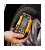 Тестер проверки глубины протектора и давления в шинах TPMS TopAuto