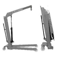 Кран складной г/п 500 кг. двухтактный Werther-OMA W107(OMA589)