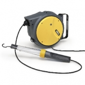 [AM57/AM8 230V]  Zeca (Италия) Катушка-удлинитель электрическая с лампой 11 В
