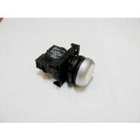 [B5656]  Werther-OMA (Италия) Кнопка 1-о контактная белая