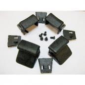 [C4027645]  Hofmann (Италия) Комплект накладки пластиковые 4 шт. (короткие)