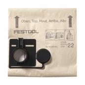 [452972]  Festool (Германия) Мешок-пылесборник, 5 шт. FIS-CT 44/5