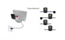 [5214 NR PRRC]  Техновектор (Тула) Стенд регулировки углов установки колес (сход-развал)