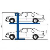 [П13-14]  ДАРЗ (Дмитров) Парковка двухстоечная, г/п 3000 кг.