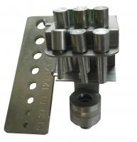 Комплект пуансонов для гидравлического пресса ae&t TPP T61204M, T61210M, T61212M, T61212F, T61220M, T61220F.