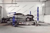 Стапель кузовной. стенд для ремонта кузова вытяжки
