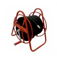 Барабан напольный для рукава 100 м РВД DN8, вход 22*1,5ш - выход 22*1,5ш