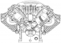 Блок поршневой Remeza LT100 1400 л/м (7,5 кВт) ремеза lt 100 AirCast