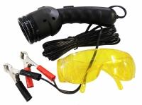 Комплект для обнаружения утечек фреона УФ фонарик и УФ очки