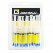 Ультрафиолетовая добавка для выявления утечек BRILLIANT 6 по 7,5 мл