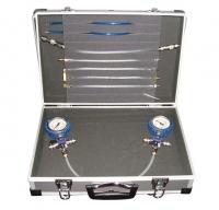 Диагностический набор для контроля давления в обратной магистрали форсунок Common Rail пьезоинжекторах Siemens Bosch Delphi SMC-1005
